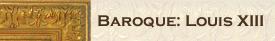 Baroque Louis XIII Frames