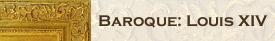 Baroque Louis XIV Frames