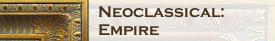 Neoclassical Empire Frames