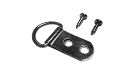 "D-Ring Hanger: 2 Hole, 5/8"" Wide Strap, Corrosion Resistant Plated Steel, Maximum Hanging Weight: 30 lbs, D-RING005 preview image"