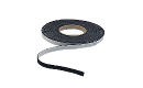 "Felt: Adhesive Back, Rabbet Felt Liner Strip, Thickness: 1/16"", Width: 1/2"", Black FELT003 preview image"