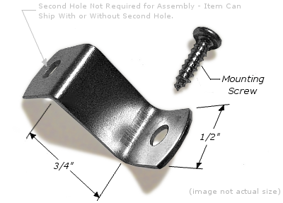 """Canvas Offset: 3/4"""", Corrosion Resistant Plated Steel OFFSET005"""