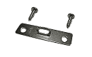 "Super Steel Hanger: 2 Hole, 2"" Length, 1/2"" Wide, Corrosion Resistant Plated Steel, Maximum Hanging Weight: 20 lbs, SUPER-STEEL001 preview image"