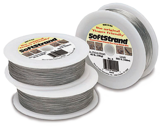 Hanging Wire: Uncoated Stranded Stainless Steel (SOFTSTRAND) WIRE002